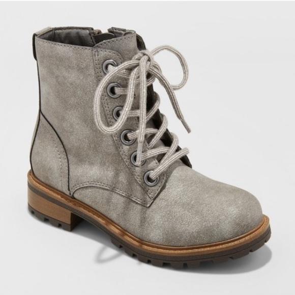 Sale Girls Lace Up Ankle Boots